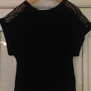 BANANA REPUBLIC Black Top Sz Small EUC
